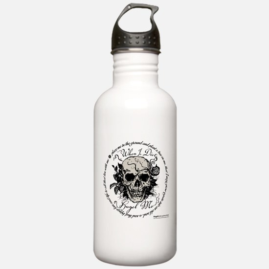 When I Die, Hugel Me1 Water Bottle