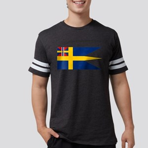 Naval ensing of Sweden 1844-19 Mens Football Shirt