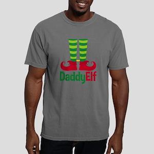 Daddy Elf Mens Comfort Colors Shirt