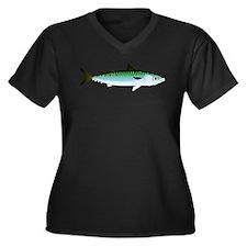 Mackerel Pacific Atlantic Frigate t Plus Size T-Sh