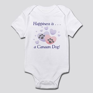 Happiness is...a Canaan Dog Infant Bodysuit
