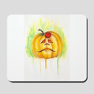 Sad Jack O'Lantern Mousepad