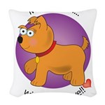 love_mutts Woven Throw Pillow
