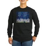 Lakota Instructions for Livin Long Sleeve Dark T-S