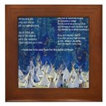 Lakota Instructions for Livin Framed Tile
