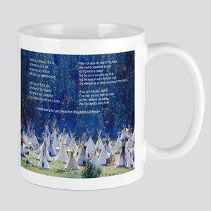 Lakota Instructions for Livin Mug