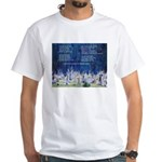Lakota Instructions for Livin White T-Shirt