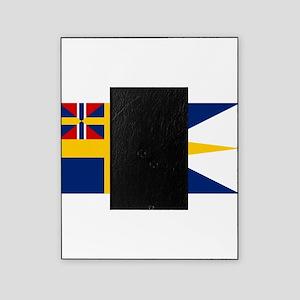 Naval ensing of Sweden 1844-1905 Picture Frame
