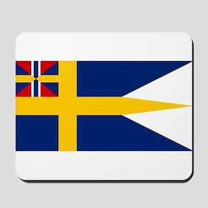 Naval ensing of Sweden 1844-1905 Mousepad