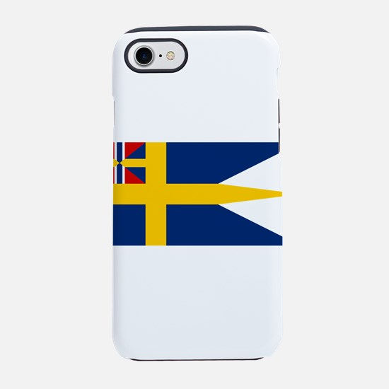 Naval ensing of Sweden 1844-19 iPhone 7 Tough Case