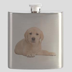 Labrador Retriever Puppy Flask