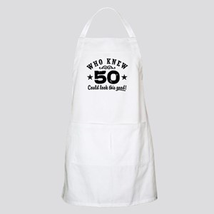 Funny 50th Birthday Apron
