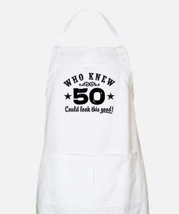 Funny 50th Birthday Apron