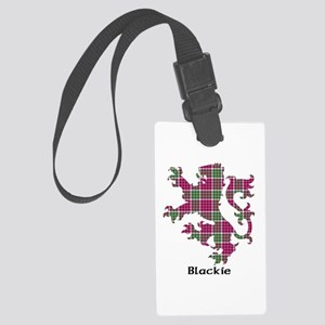 Lion - Blackie Large Luggage Tag