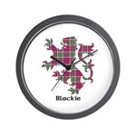 Lion - Blackie Wall Clock