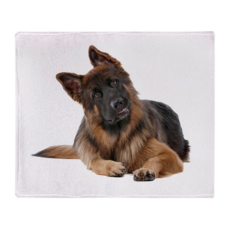 german shepherd blanket german shepherd throw blanket by theonlinezoo 9441