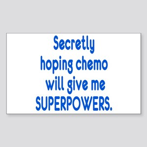 Funny Cancer Chemo Superpowers Sticker