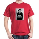 Happy Chanukah Born to Kvetch Dark T-Shirt