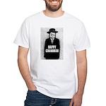 Happy Chanukah Born to Kvetch White T-Shirt