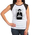 Happy Chanukah Born to Kvetch Women's Cap Sleeve T