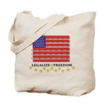 LEGALIZE FREEDOM? Tote Bag