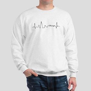 Chicago Heartbeat Letters Sweatshirt