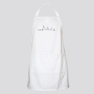New York Heartbeat Letters Apron