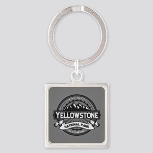 Yellowstone Ansel Adams Square Keychain