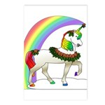 Rainbow Unicorn Postcards (Package of 8)
