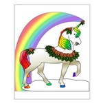 Rainbow Unicorn Small Poster