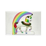Rainbow Unicorn Rectangle Magnet (100 pack)