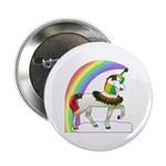 Rainbow Unicorn Button