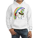 Rainbow Unicorn Hooded Sweatshirt