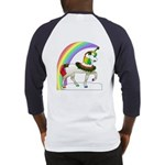Rainbow Unicorn (Back Design) Baseball Jersey