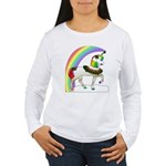 Rainbow Unicorn Women's Long Sleeve T-Shirt