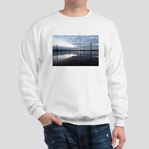 Breaking Dawn Over Still Water Sweatshirt
