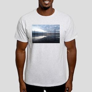 Breaking Dawn Over Still Water Light T-Shirt