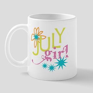 July Birthday Girl Mug