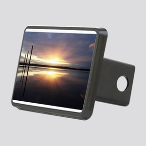 Breaking Dawn Over Still Water Hitch Cover