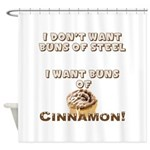 Buns of Cinnamon Shower Curtain