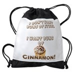 Buns Of Cinnamon Drawstring Bag