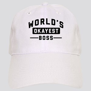 World's Okayest Boss Cap