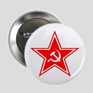 Red Soviet Button