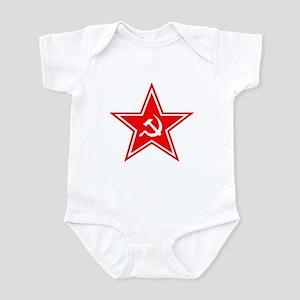 Red Soviet Infant Bodysuit