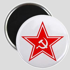 Red Soviet Magnet