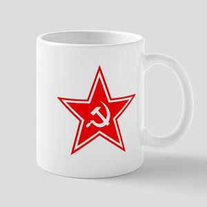 Red Soviet Mug