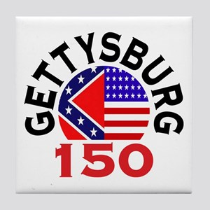 Gettysburg 150th Anniversary Civil War Tile Coaste