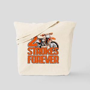 2 Strokes Forever Tote Bag