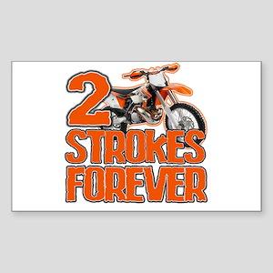 2 Strokes Forever Sticker