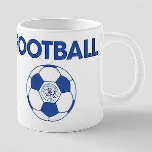 Queens Park Rangers Footba 20 oz Ceramic Mega Mug